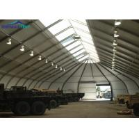 China Metal Frame Aircraft Hangar Tent / TFS Tent With Aluminum Alloy 6061/T6 on sale
