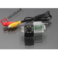 Quality 8 LED HD CCD Night Vision Backup Camera , Volkswagen Polo Reverse Camera for sale