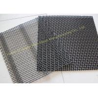 Quality Square Stainless Steel Wire Mesh Screen , Pain  / Dutch Weave  Mine Sieving Mesh for sale