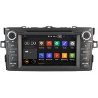 Quality 1024 X 600 16GB Flash Toyota Radio GPS , Toyota Auris Stereo 2007 - 2012 for sale