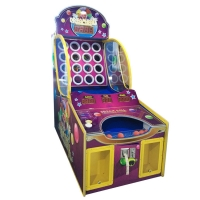 Quality Ball Shooting Pitching Circles 16 Coin Operated Game Machine for sale