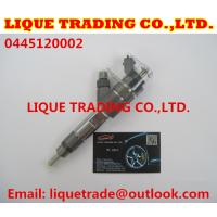Quality BOSH Common rail injector 0445120002 for IVECO 500313105 500384284 for sale