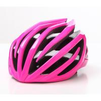 Quality Pink Color Road Cycling Helmets With 24 Air Cooling Vents CE CPSC for sale
