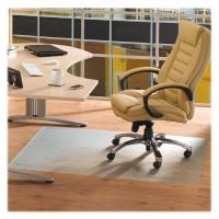 China Soft Home Office Chair Protective Mat , Transparent PVC Chair Mat Without Stud on sale