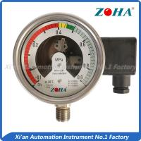 China Sulfur Hexafluoride Gas Pressure Gauge , Bottom Mounting 4 Inch Pressure Gauge on sale