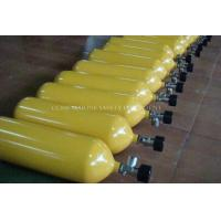 Quality contained breathing apparatus carbon steel cylinder / positive pressure air for sale