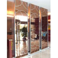 China China Manufacturer Stainless Steel Screen Partition For Hotel lobby Interior Design and Lobby Design on sale