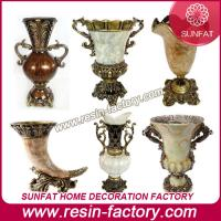 Best Polyresin Resin square vase wholesale
