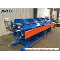 China Professional Hydraulic Plate Bending Machine 4 Meter Long CNC Folding / Slitting Machine on sale