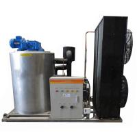 China R22 Refrigerant 9.5KW 3T Flake Ice Machine With Danfoss Compressor on sale