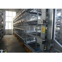 Quality H Type Egg Laying Chicken Cages Customized Size Scientific Designed for sale