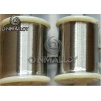 Quality Annealled State Copper Nickel Wire CuNi6 CuNi10 CuNi23 With Medium Resistivity for sale
