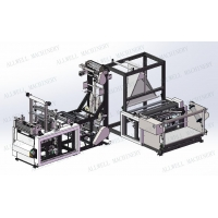 Quality 100GSM 13KW 100pcs/Min Non Woven Bag Making Machine for sale