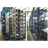 Quality Island Use Middle / Large Scale Marine Reverse Osmosis Water Maker For Fresh Water for sale