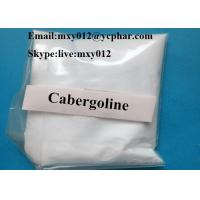 China 99% Purity CAS:81409-90-7 Muscle Building Steroids Cabergoline Dostinex Powder for Parkinson Treatment on sale