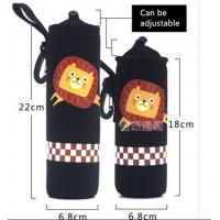 Quality Neoprene Water Bottle Sleeve Insulated Glass Drink Bottle Cover size:18cmc*6.8cm  Material is neoprene for sale