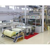 Quality Single Beam PP Non Woven Fabric Making Machine / Production Line high strength for sale
