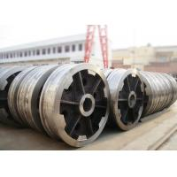 Quality P24 rail locomotive freight car rail bogie wheel with axle and bearing for sale