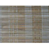 Quality Printed Outdoor Bamboo Window Blinds Fumigation Certification For Stream Room for sale
