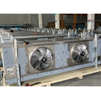 Quality Two fans Air Condenser Cooler Condenser Use for Vegetable Refrigeration for sale