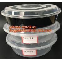 Quality Reusable Take Away Plastic Salad Bowl With Fork And Dressing box and Source Container,Disposable take away plastic salad for sale