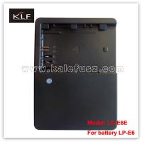 Quality camcorder battery charger LC-E6E for Canon battery LP-E6 for sale