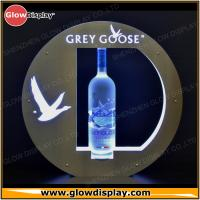 Quality LED Lighted Grey Goose Bottle Presenter VIP service Tray Glorifier Display for sale