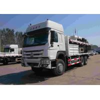 China Sinotruk Howo 6x4 Heavy Cargo Truck 30 Tons Loading With Full Cargo Trailer on sale