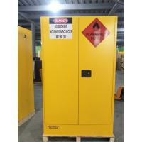 China 4 GAL Small Industrial Safety Cabinets With Door For Chemical Flammable Liquids for sale