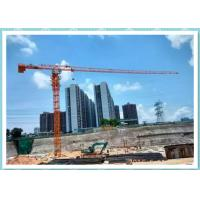 Quality Self-Raising Rental Rail Mounted Tower Crane 10 Ton 60m Construction Site Cranes for sale