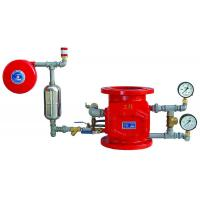 Quality Red Wet Alarm Check Valve  Flange Ends DN80 - DN100 High Pressure for sale