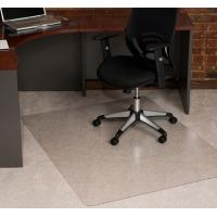 China Comfort Floor Non Studded Flat Pile Carpet Chair Mat Anti-slip , Eco-Friendly on sale