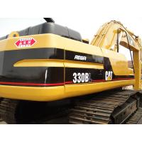 Quality CAT 330 Second Hand Excavators 750mm Shoe Size With 1.5m3 Bucket Capacity for sale