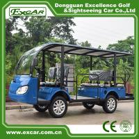 Quality G1S8 Disabled Electric Sightseeing Bus With USA Curties Controller 300A for sale