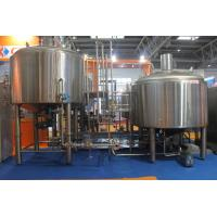 Quality Stainless Steel 316 Turnkey Beer Brewing System Hand Or Automatic Control for sale