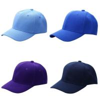 Quality Adjustable Closure Unisex Baseball Caps Curved Visor Plain Solid Acrylic Color for sale