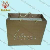 Best Recycled Kraft Customized Paper Bags With Handles For Shopping wholesale