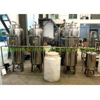 Quality Stainless Steel 304 Material Ro Water Treatment System / Water Purification Equipment for sale