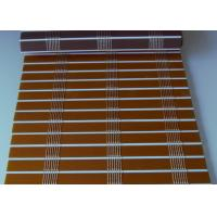 Quality Smooth Surface Bamboo Window Blinds , Natural Bamboo Roman Shades Multi Color for sale