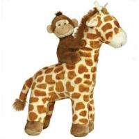 Quality Lovely Giraffe with babay Monkey Plush Toys for sale