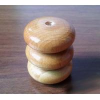Best wood Abacus beads wooden loose beads 28*13mm wholesale