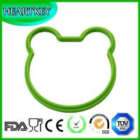 Quality DIY bear Non-Stick Fried Egg Cooker Moulds Silicone Egg Pancake Mold Frying Egg Ring for sale