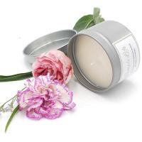 Quality Scented Soy Wax Candles In Round Tin Can for sale