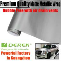 Quality Matte Metallic Car Wrapping Films - Matte Metallic Silver for sale