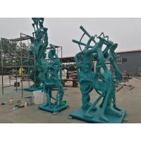 Quality Bronze sculptures for American artist , customized bronze sculpture for exhibition ,China bronze sculpture supplier for sale