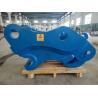 Buy cheap High Hardness Excavator Tilt Coupler , Good Bronze Bushings Pin Grabber Coupler from wholesalers