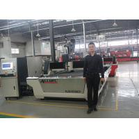 China Alloy Steel Plate CNC Fiber Laser Cutting Machine With Perfect Lubrication System on sale