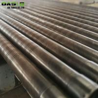 Quality Seamless Slotted Well Screen Galvanized Surface Treatment Laser Cutting Pipe for sale