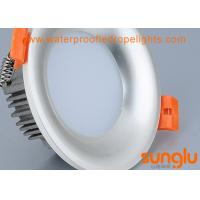 Quality Professional 240v LED Downlights No Flicker Pear Silver Color SMD LED Downlight for sale