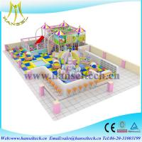 Quality Hansel children amusement indoor and outdoor playground slides for sale for sale